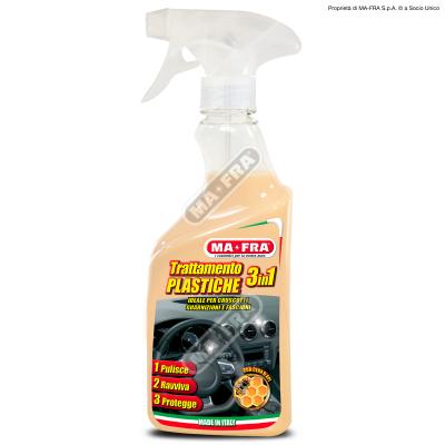 3 in 1 Plastiche- Kunstoffpflegespray 3in1